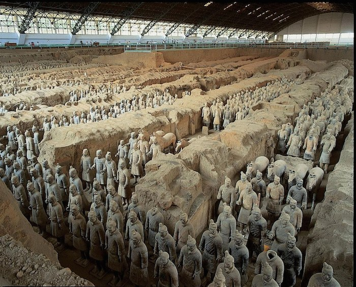 Mausoleum of the First Qin Emperor China