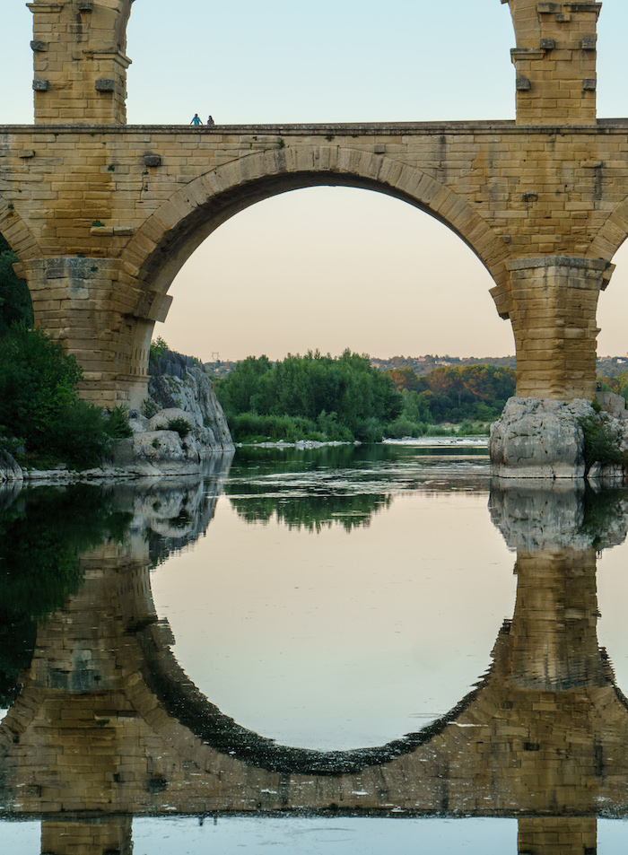People for scale- Pont Du Gard