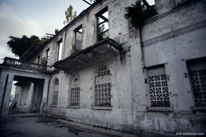 A former residence of Manuel Noriega in Casco Antiguo, Panama City.