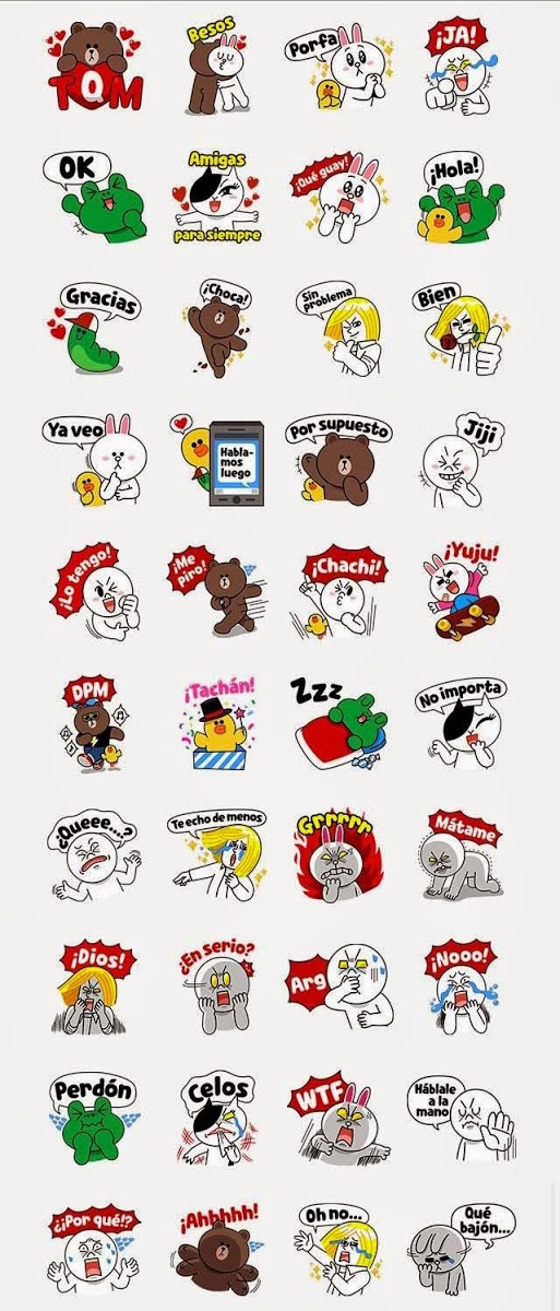 Free-LINE-Character-Love-U-Spanish-Line-Sticker-In-Spanish