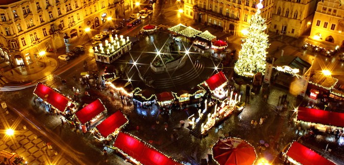 Christmas at Old Town Square, Prague, Czech Republic